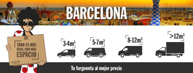 Alquiler furgonetas barcelona transportes de paneles de for Oficinas pepecar barcelona